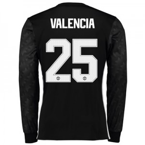 Manchester United Away Cup Shirt 2017-18 – Long Sleeve with Valencia 2 All items