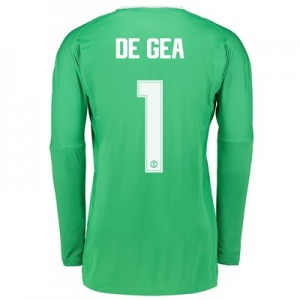 Manchester United Away Goalkeeper Cup Shirt 2017-18 with De Gea 1 prin All items