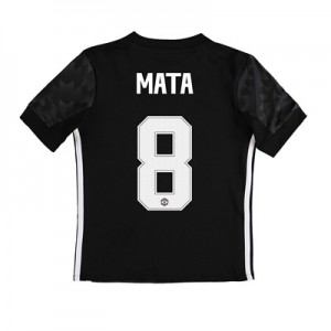 Manchester United Away Cup Shirt 2017-18 – Kids with Mata 8 printing All items