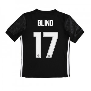 Manchester United Away Cup Shirt 2017-18 – Kids with Blind 17 printing All items