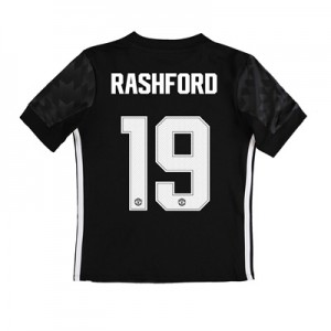 Manchester United Away Cup Shirt 2017-18 – Kids with Rashford 19 print All items