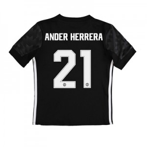Manchester United Away Cup Shirt 2017-18 – Kids with Ander Herrera 21 All items