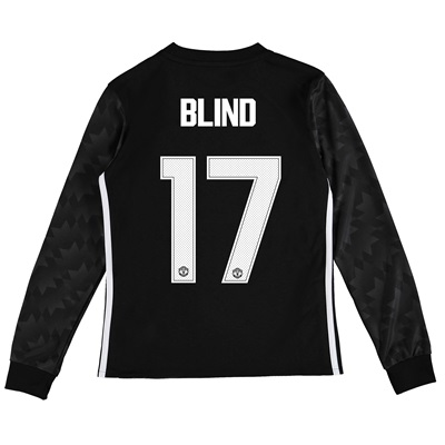 Manchester United Away Cup Shirt 2017-18 – Kids – Long Sleeve with Bli All items