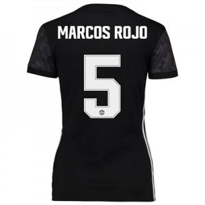 Manchester United Away Cup Shirt 2017-18 – Womens with Marcos Rojo 5 p All items