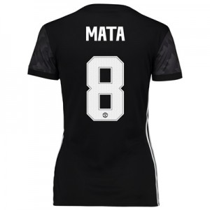 Manchester United Away Cup Shirt 2017-18 – Womens with Mata 8 printing All items