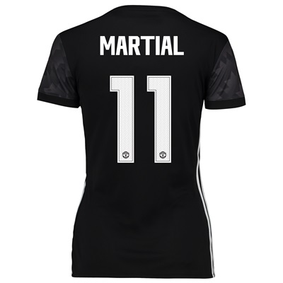 Manchester United Away Cup Shirt 2017-18 – Womens with Martial 11 prin All items