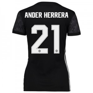 Manchester United Away Cup Shirt 2017-18 – Womens with Ander Herrera 2 All items