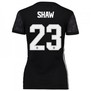 Manchester United Away Cup Shirt 2017-18 – Womens with Shaw 23 printin All items