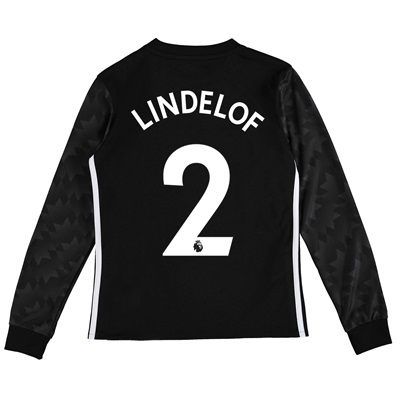 Manchester United Away Shirt 2017-18 – Kids – Long Sleeve with Lindelo All items