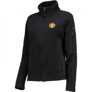 Manchester United Columbia Fast Trek II Full Zip Fleece Jacket – Black All items
