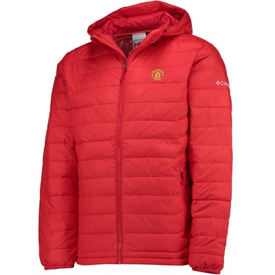 Manchester United Columbia Powder Lite Hooded Jacket – Cherrybomb – Me All items