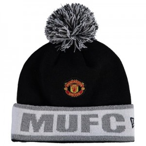 Manchester United New Era Reflective Cuff Knit – Black – Adult All items