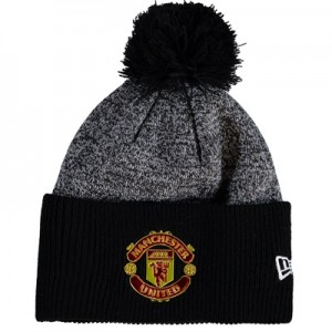 Manchester United New Era Oversized Cuff Knit – Black – Adult All items