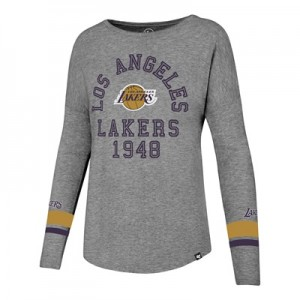 """""""Los Angeles Lakers 47 Encore Courtside Long Sleeve T-Shirt – Womens"""" All items"""