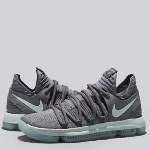 """Nike Zoom KD 10 Basketball Shoe – Cool Grey/Igloo-White – Mens"" All items"