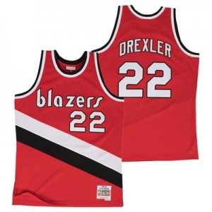 """Portland Trail Blazers Clyde Drexler Hardwood Classics Road Swingman J"" All items"