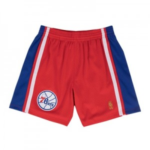 """Philadelphia 76ers Hardwood Classics Swingman Short – Mens"" All items"