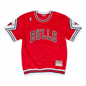"""Chicago Bulls Hardwood Classics Authentic Shooting Shirts – Mens"" All items"