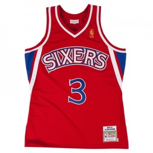 """Philadelphia 76ers Allen Iverson 1996-97 Road Authentic Jersey By Mitc"" All items"