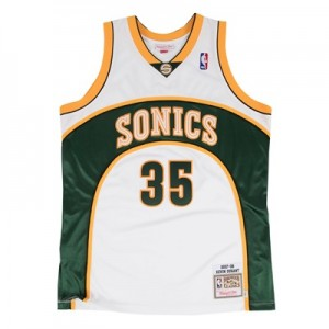 """Seattle Supersonics Kevin Durant 2007-08 Rookie Home Authentic Jersey "" All items"