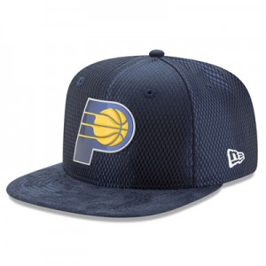 """""""Indiana Pacers New Era 2017 Official On-Court 9FIFTY Snapback Cap"""" All items"""