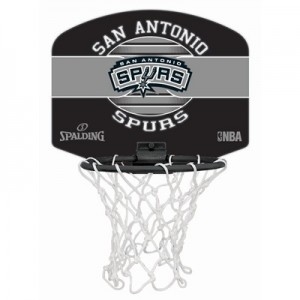 """Spalding NBA San Antonio Spurs Mini Backboard & Ball"" All items"