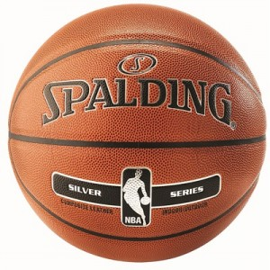 """Spalding NBA Silver Indoor/Outdoor Basketball – Size 7"" All items"