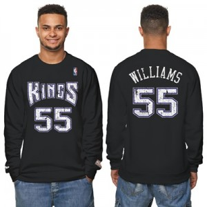 """Sacramento Kings Jason Williams Hardwood Classics Distressed Name & Nu"" All items"