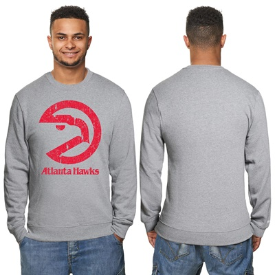 """Atlanta Hawks Hardwood Classics Distressed Print Crew Neck Sweatshirt "" All items"