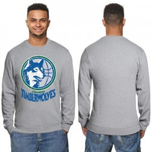 """Minnesota Timberwolves Hardwood Classics Distressed Crew Neck Sweatshi"" All items"