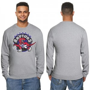 """Toronto Raptors Hardwood Classics Distressed Print Crew Neck Sweatshir"" All items"