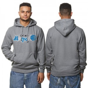"""Orlando Magic Hardwood Classics Distressed Print Hoodie – Grey Heather"" All items"