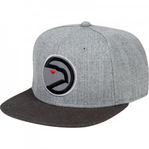 """Atlanta Hawks Hardwood Classics Embroidered Logo Snapback Cap"" All items"
