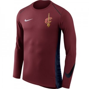 """""""Cleveland Cavaliers Nike Hyperelite Long Sleeve Shooter – Team Red – M"""" All items"""