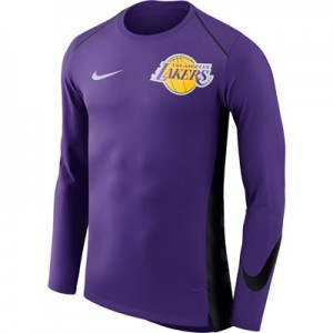 """Los Angeles Lakers Nike Hyperelite Long Sleeve Shooter – Field Purple "" All items"
