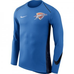 """Oklahoma City Thunder Nike Hyperelite Long Sleeve Shooter – Signal Blu"" All items"