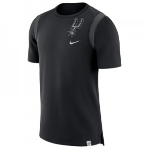 """San Antonio Spurs Nike Baller Short Sleeve Top – Black – Mens"" All items"