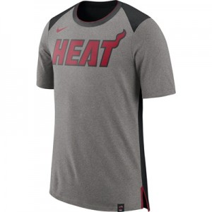 """Miami Heat Nike Fan Short Sleeve Top – Dark Grey Heather – Mens"" All items"