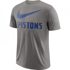 """Detroit Pistons Nike Swoosh T-Shirt – Dark Grey Heather – Mens"" All items"