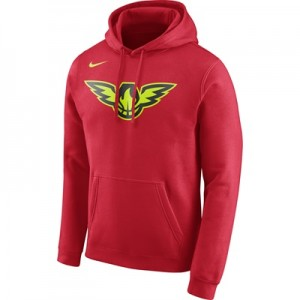 """Atlanta Hawks Nike Logo Fleece Hoodie – University Red – Mens"" All items"