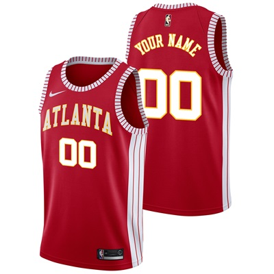 """Atlanta Hawks Atlanta Hawks Nike Classic Edition Swingman Jersey – Cus"" All items"