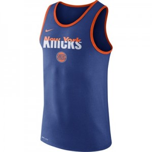 """New York Knicks Nike Logo Tank Top – Rush Blue – Mens"" All items"