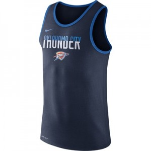 """Oklahoma City Thunder Nike Logo Tank Top – College Navy – Mens"" All items"