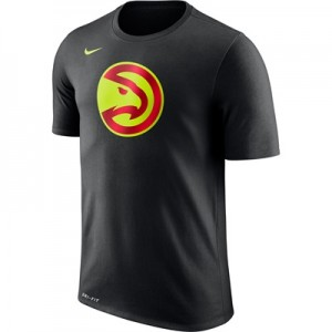 """Atlanta Hawks Nike Logo T-Shirt – Black – Mens"" All items"