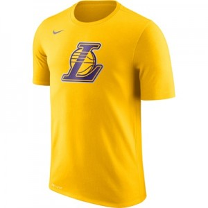 """Los Angeles Lakers Nike Logo T-Shirt – Amarillo – Mens"" All items"