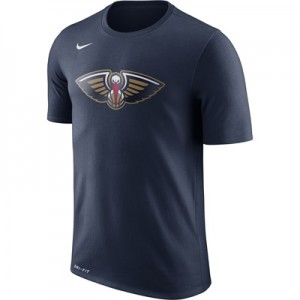 """New Orleans Pelicans Nike Logo T-Shirt – College Navy – Mens"" All items"