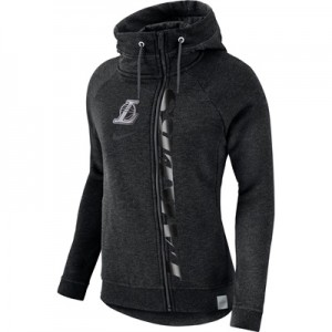 """Los Angeles Lakers Nike Modern Cape Hoodie – Black Heather – Womens"" All items"