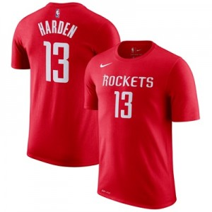 """Houston Rockets Nike James Harden Name & Number T-Shirt – University R"" All items"