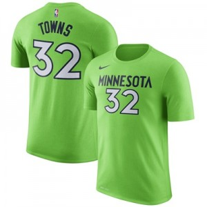 """Minnesota Timberwolves Nike Karl Anthony-Towns Name & Number T-Shirt -"" All items"