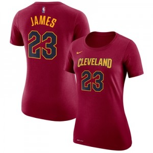 """Cleveland Cavaliers Nike Lebron James Name & Number T-Shirt – Team Red"" All items"